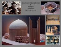 Downtown Mobarakeh Cultural Center & Mosque