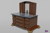 Dresser/Kitchen