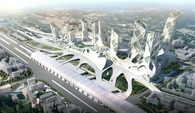Xipu high-speed railways station urban design