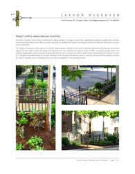 Urban Parkway Planting Design