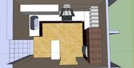 Interior design of an apartment, Lamia, Greece