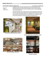 LeCordon Bleu College for Culinary Arts 215 First Street, Cambridge, MA