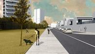 DenCity: city model with dual-density housing