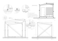Bamboo modular housing