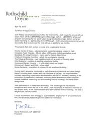 Letter of Rec.