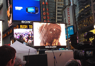 ART TAKES TIMES SQUARE