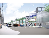San Diego International Airport Terminal 2 Parking Plaza
