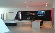 Audi R8 Sport corner Belgium
