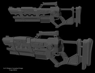 Sci Fi Weapon Asset