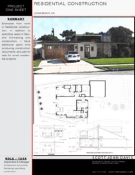 RESIDENTIAL DESIGN WORK
