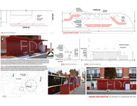 East of Down Town Bus Shelter Design Proposal