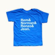 Rem & Norman & Renzo & Jean.