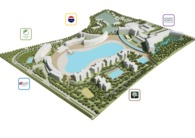 Landscape design for Starwood Hotel