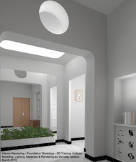 3D Interior Rendering Modeled and Rendered in 3ds max