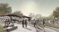 Downtown masterplan for Far Rockaway, NYC