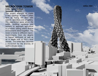 Microcosm Tower : Vertical Urban Farm