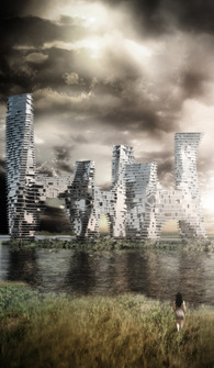 Accretion Towers