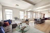 Apartment combination and redesign. West Village