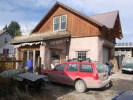 Straw Bale Garage and studio