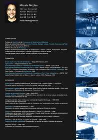 CV Architecte, Graphiste, Webdesign