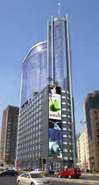 Times Square Towers at Manama (Kingdom of Bahrain, Arabian Gulf).