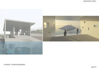 Meditation Space: Exterior + Interior Rendering