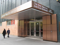 Main Entrance @ New York Eye & Ear Infirmary