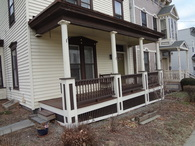 My porch reconstruction/restoration