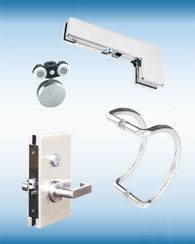 Shower Door Hardware & Glass Entrance Hardware for PRL Architectural Products