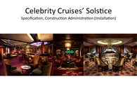 Celebrity Cruises- Solstice 