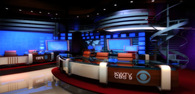 News set design - KWTV CBS 9