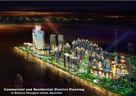 Quanzhou Downtown commercial and residential district planning and design