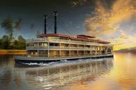 Myanmar river boat