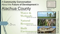 A Community Conversation about the Future of Development in Alachua County - Built Environment