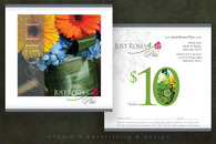 Just Roses Plus Gift Certificate