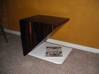 Ziricote End Tables