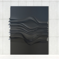 Scripted Wall Panel