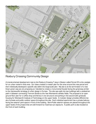 Roxbury Crossing Community Design