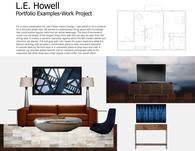 Work Project-Living Room Presentation