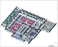 3D R&D Conceptual Facility Plan Test Fit Out