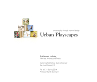Urban Playscapes (Thesis Project in Progress)