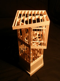 Wood Frame Watchtower