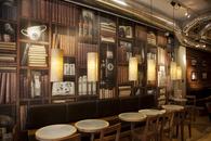 Espresso House wallpaper design