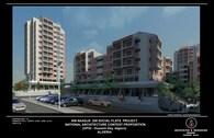 200 Social Flats National Architecture Contest Project, (AIN NAADJA, Algiers, Algeria)