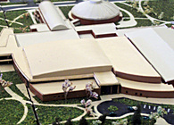 Ball State University Campus Model & Map