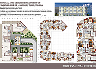"PROPOSAL AND DESIGN DEVELOPMENT OF ""L'IMMOBILIERE DE L'AVENUE, TUNIS, TUNISIA"