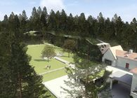 EXTENSION OF VILLA SIROKO AND A NEW HOTEL COMPLEX