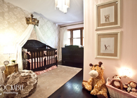 Nursery Room design for Backstreet Boy AJ McLean