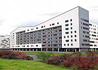 Social housing complex (216 apartments), facilities and Urbanization