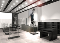 Design of Calvin Klein Stores (CK Jeans, CK Underwear, CK)